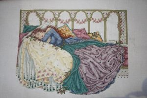 Sleeping Beauty Commission by StitchingDreams