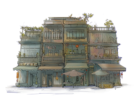 Old building by Yewrezz