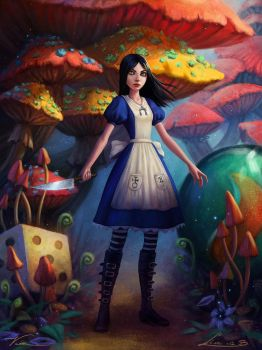Alice Madness Returns - Collab by Zolaida