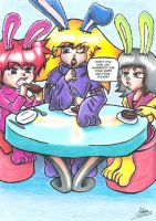 Always eat your candy with knife and fork by HystericalDark