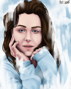 emilia clarke, no one is perfect... by shinei-chan