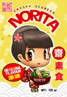 Packaging Label design -Norita by Wenart