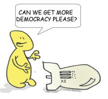 American freedom and democracy by ademmm