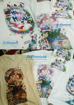 Le Phantasie Thingy Printed Tee by Eijiel
