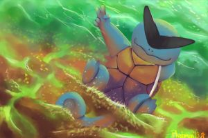 Squirtle the Boss