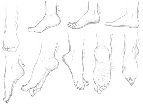 Feet 27 - 35 by monique-conway