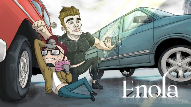 Enola (YT cover art) by blue-von