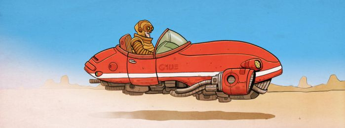 Hovercar by timmolloy