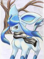 Srash the Glaceon by Togechu