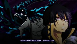 Zeref and Acnologia by PioDanilo