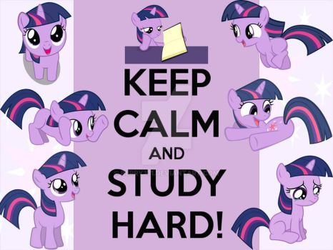 Keep Calm and Study Hard! by berry331
