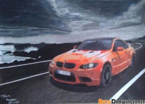 BMW M3 gts competition by solarstorm9