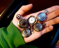 Lovely New Pocket Watches by Valethia