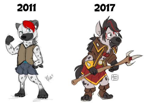 Hyena redesign by The--Magpie