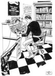 Dylan Dog commission by Wernerio