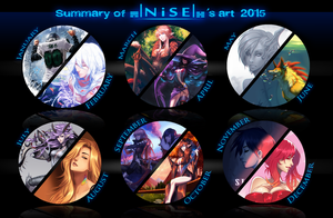 Summary of art - 2015 by dNiseb