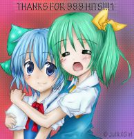 Cirno and Daiyousei by JulikXGirl