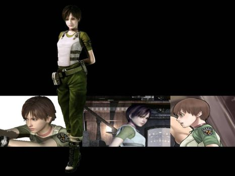 RE Rebecca Chambers Wallpaper by KaixTomiko