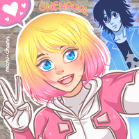 Gwenpool Selfie by manu-chann
