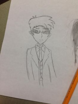 Anime 10th doctor wip by potatoes1221