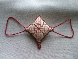 Ornament of the Month - January,  Garland finish by Magical525