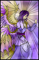 Stained Glass - Barattiel by nocturnefox