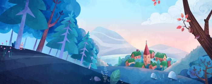 The valley - Blanche by Red-Admiral-Nessa