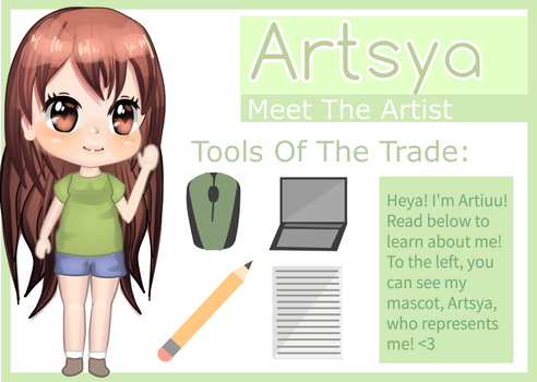 Meet The Artist ~ by Artiyuu