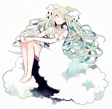 head in the clouds. by eaphonia
