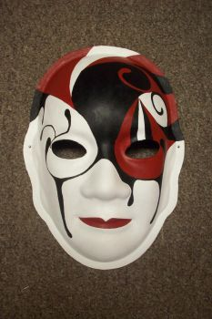 Red and Black Mask by capgar