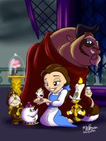 Beauty and the Beast by NoDiceMike