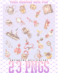 Pack cositos cute png by xMissOMG