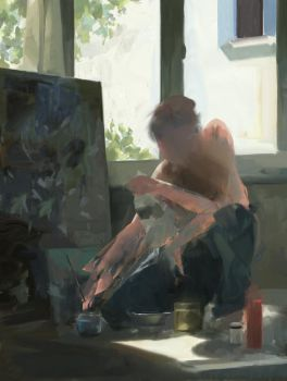 The Artist by Juhupainting