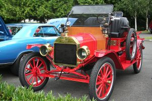 1913 Model T by indigohippie