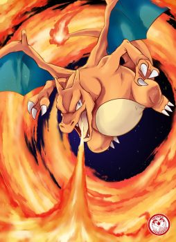 #006 Charizard by TheFresco