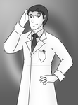 OC: Scientist Ged (COMMISSION) by cookiepianosart