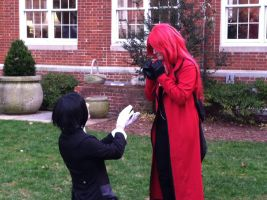 Sebastian Proposes to Grell by SailorDerp