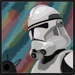 Clone Trooper Vector by lokiducks