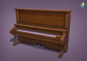 Upright Piano by BenFlex