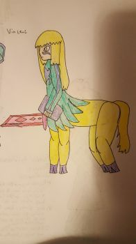 Centaur Vincenc by Lady-Of-Poor-Writing