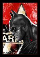 Batman Arkham City... by Dave-Wilkins