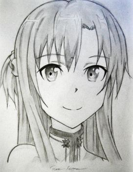 Asuna by Legeenda