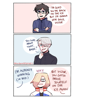 YOI: POOR YURIO by Randomsplashes