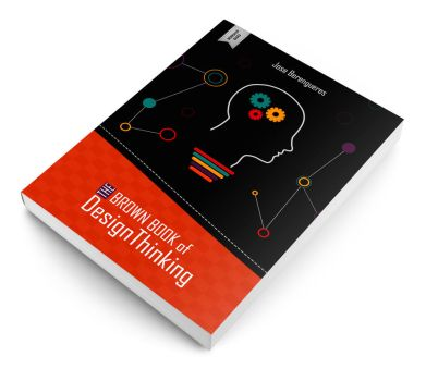 The brown book of design thinking [Book cover] by emanrabiah