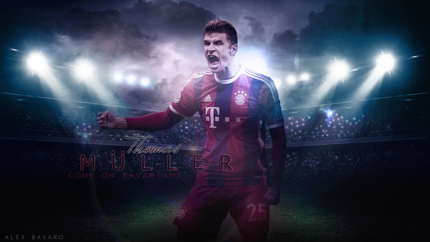 Thomas Muller - WALLPAPER by Ds-Bayern