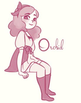 Orchid by ambisweetiepie