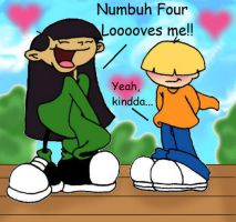 KND:Numbuhs 3 and 4 by kiarasoares