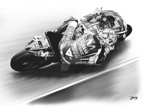 Valentino Rossi by Dreamers-Ink