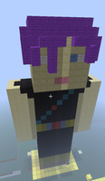 Marrai Trunks made in minecraft by Trunksl