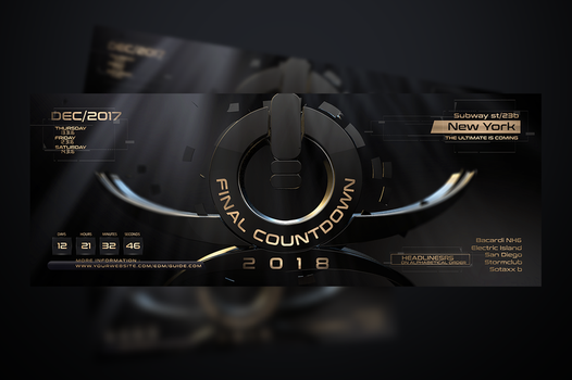 Final-Countdown-EDM-Flyer-Template by stormclub